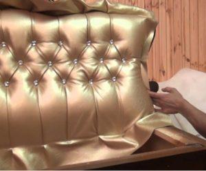 Перетяжка мебели самостоятельно